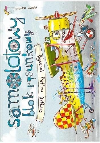 Okładka książki Samolotowy blok rysunkowy