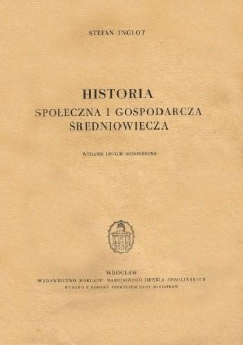 Okładka książki Historia społeczna i gospodarcza średniowiecza