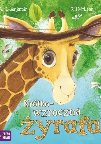 Okładka książki Krótkowzroczna żyrafa