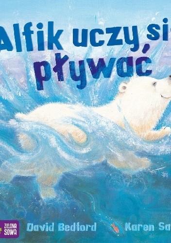 Okładka książki Alfik uczy się pływać