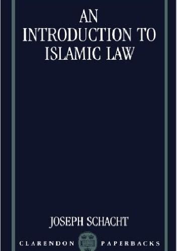 Okładka książki An Introduction to Islamic Law