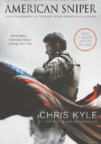 Okładka książki American Sniper: The Autobiography of the Most Lethal Sniper in U.S. Military History