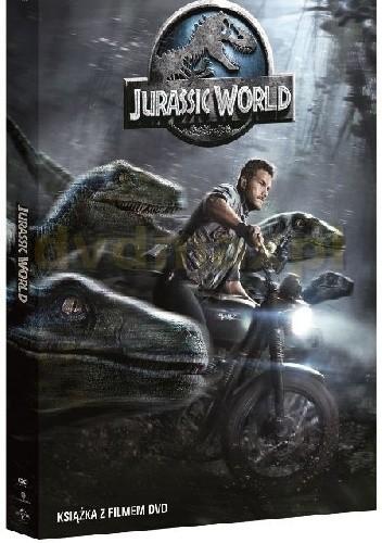 Okładka książki Jurassic World (DVD + książka)
