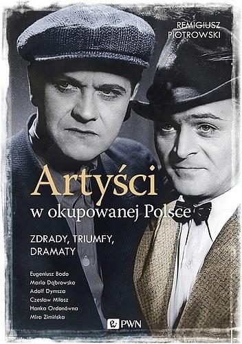 Okładka książki Artyści w okupowanej Polsce