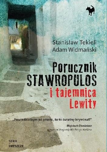Okładka książki Porucznik Stawropulos i tajemnica Lewity