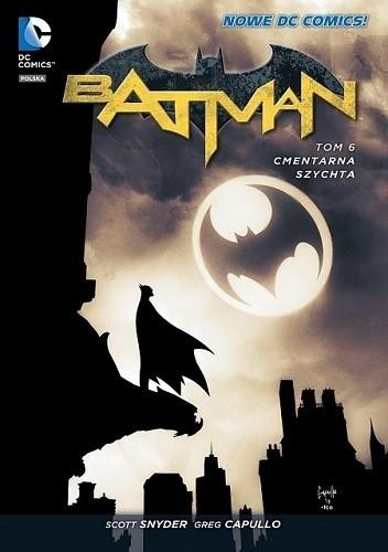 Okładka książki Batman: Cmentarna szychta