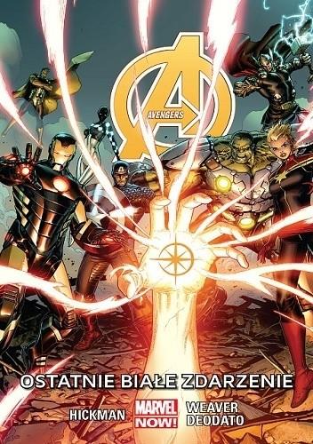 Okładka książki Avengers: Ostatnie białe zdarzenie