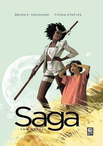 Okładka książki Saga. Tom Trzeci