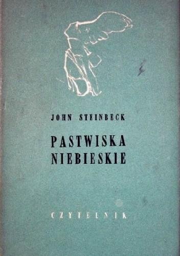 Okładka książki Pastwiska niebieskie