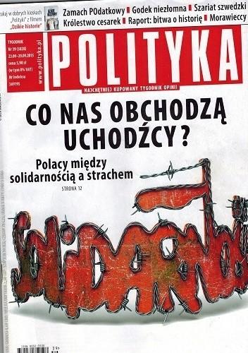 Okładka książki Polityka nr 39 (3028), 23.09-29.09.2015