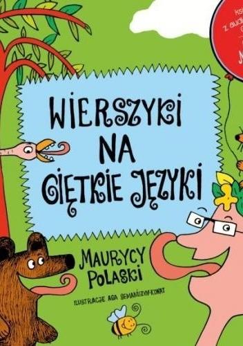 Okładka książki Wierszyki na giętkie języki
