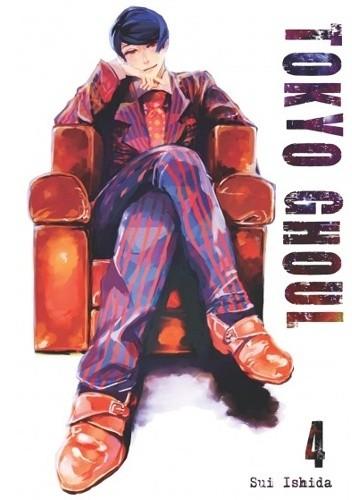 Okładka książki Tokyo Ghoul tom 4