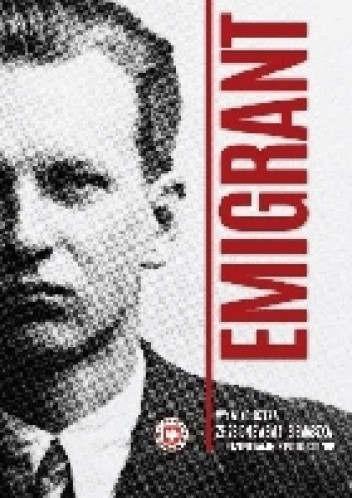 Okładka książki Emigrant- wywiad-rzeka ze Zbigniewem S. Siemaszką