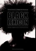 Black lexicon. Leksyka angielszczyzny afroamerykańskiej