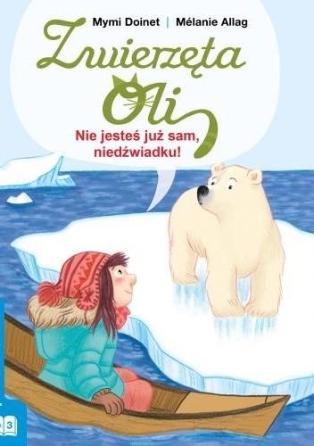 Okładka książki Nie jesteś już sam, niedźwiadku!