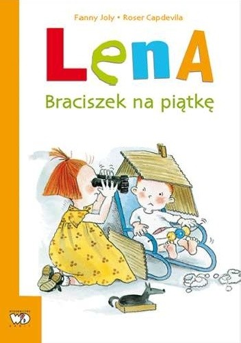 Okładka książki Lena. Braciszek na piątkę