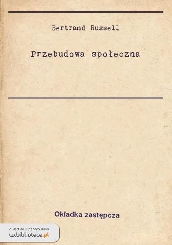 Okładka książki Przebudowa społeczna