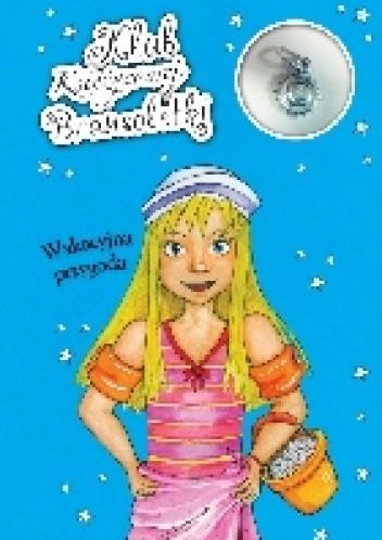 Okładka książki Klub księżycowej bransoletki.  Wakacyjna przygoda.