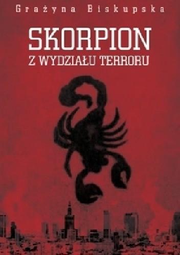 Okładka książki Skorpion z Wydziału Terroru