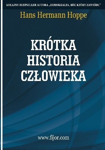 Okładka książki Krótka historia człowieka