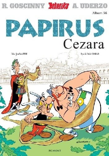 Okładka książki Papirus Cezara