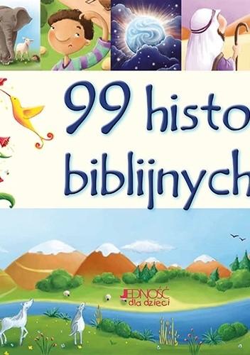 Okładka książki 99 historii biblijnych