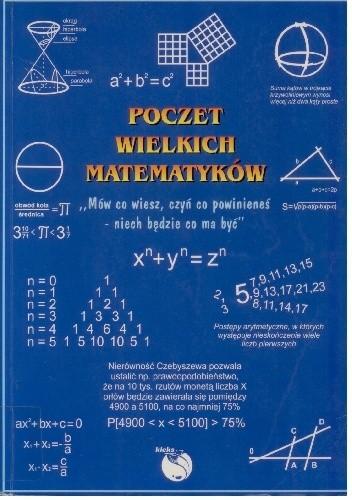 Okładka książki Poczet wielkich matematyków