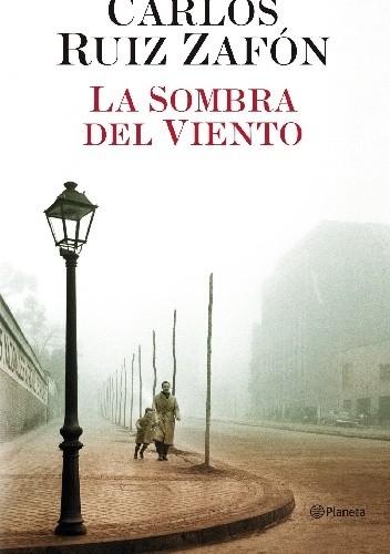 Okładka książki La sombra del viento