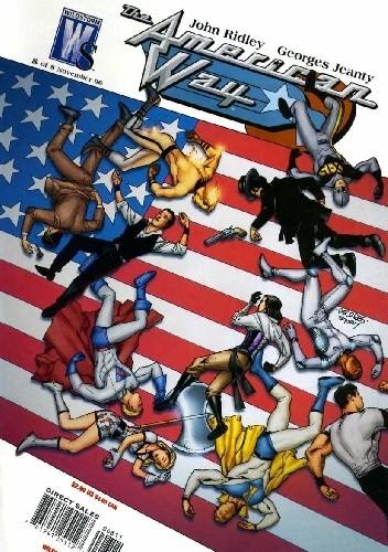 Okładka książki The American Way #8