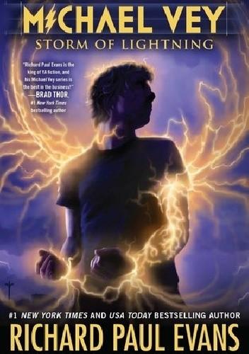 Okładka książki Michael Vey 5: Storm of Lightning