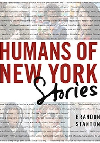 Okładka książki Humans of New York: Stories