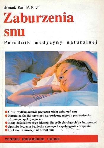 Okładka książki Zaburzenia snu
