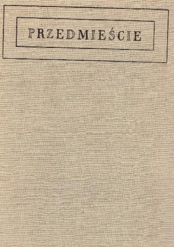 Okładka książki Przedmieście