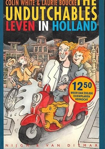 Okładka książki The Undutchables. Leven in Holland
