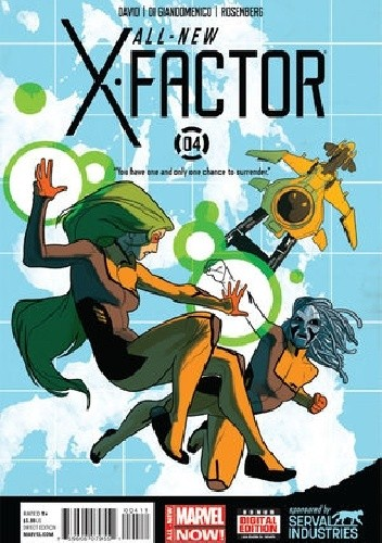 Okładka książki All-New X-Factor Vol 1 #4