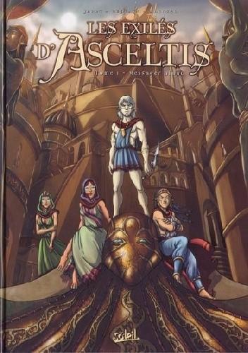 Okładka książki Les Exilés d'Asceltis #1 Messager blanc