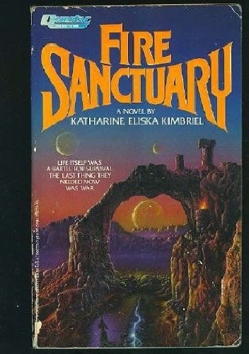 Okładka książki Fire Sanctuary