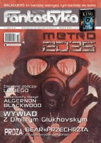 Okładka książki Nowa Fantastyka 398 (11/2015)