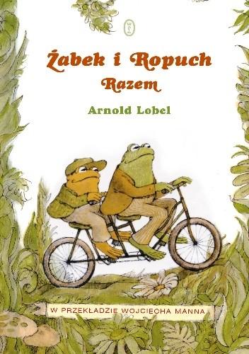 Okładka książki Żabek i Ropuch. Razem