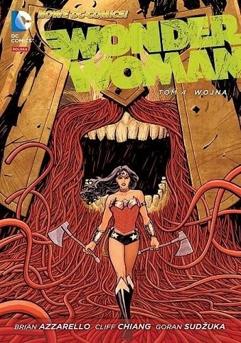 Okładka książki Wonder Woman: Wojna