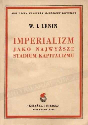 Okładka książki Imperializm jako najwyższe stadium kapitalizmu