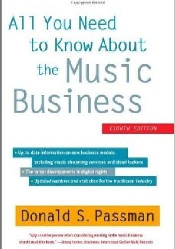 Okładka książki All you need to know about music business
