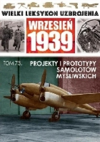 Okładka książki Projekty i prototypy samolotów myśliwskich.