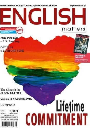 Okładka książki English Matters 55/2015