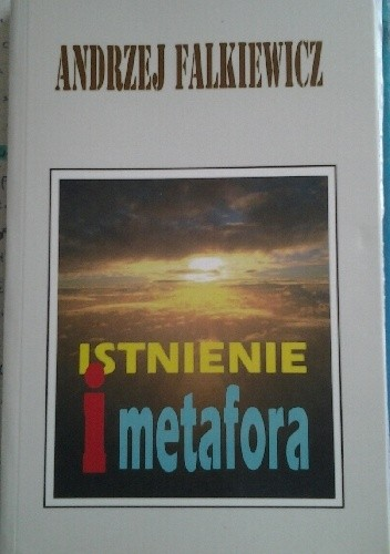 Okładka książki Istnienie i metafora