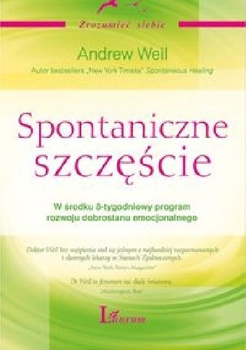 Okładka książki Spontaniczne szczęście