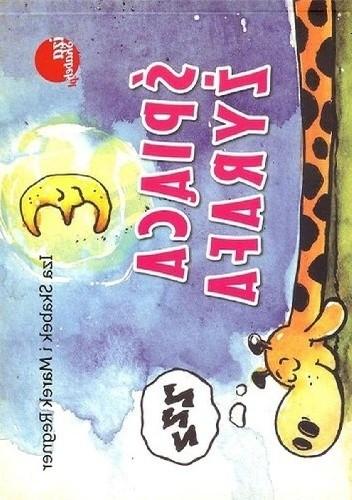 Okładka książki Śpiąca żyrafa