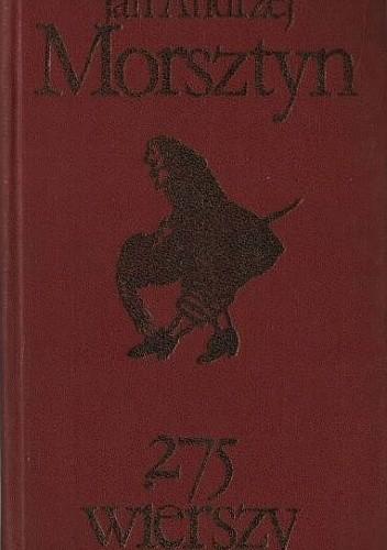 Okładka książki 275 wierszy