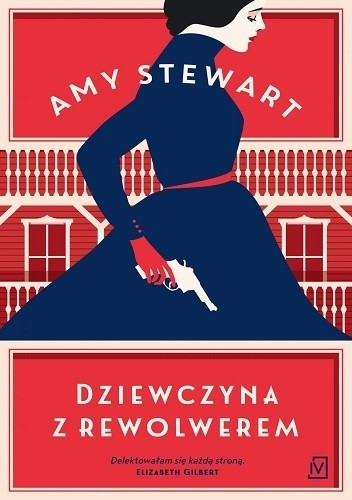 Okładka książki Dziewczyna z rewolwerem