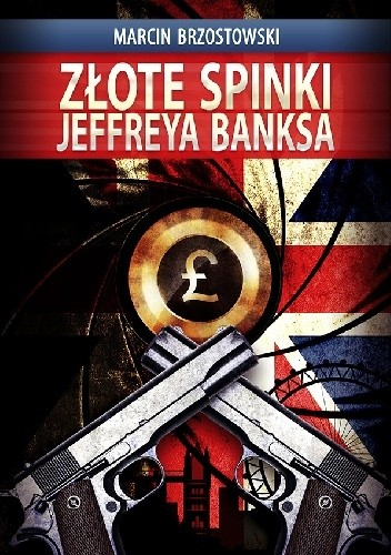 Okładka książki Złote spinki Jeffreya Banksa